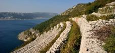 Bakar's drystone walls