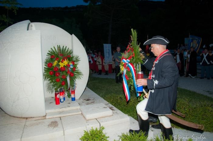 Dan pobjede i domovinske zahvalnosti, Dan hrvatskih branitelja i 25.godisnjica VRO Oluja u Bakru 05. kolovoza 2020. godine